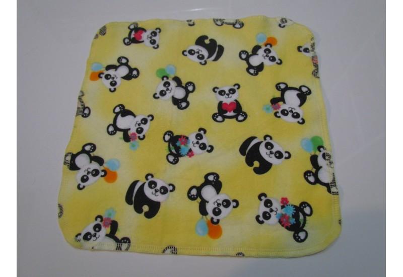 Lingette Bébé Nana- Grand 11x11- Panda