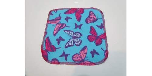 Lingette Bébé Nana- Moyen 9x9- Papillon