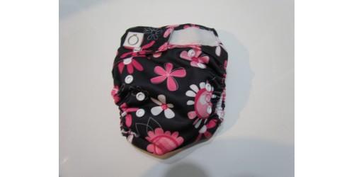 Omaiki nouvelle génération- Fleur-Tout-en-un-Velcro