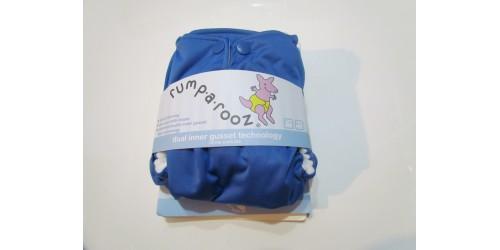Couche Rumparooz- Bleu foncé- Snap-Neuve