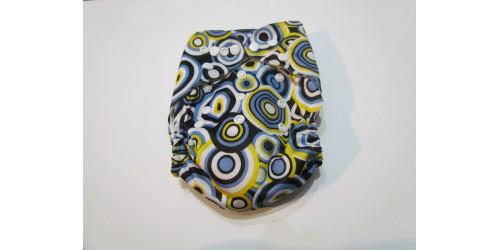 Couche Alva- Cercle vert et jaune