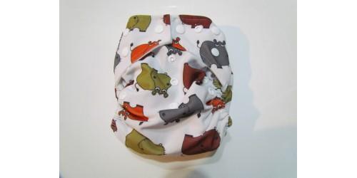 Kawaii baby- Hipopotame- snap