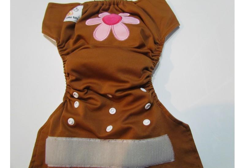 Kawaii baby- Broderie Fleur-Velcro