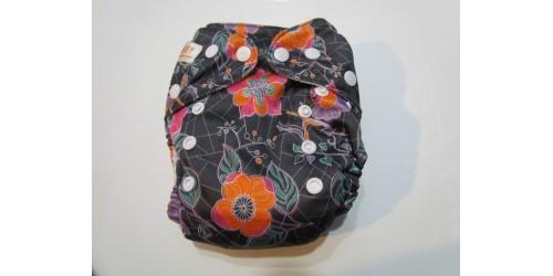 Couche à poche sunbaby- fleur orangé