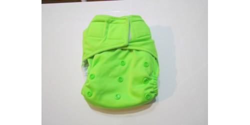 La Petite Ourse- Vert fluo-velcro