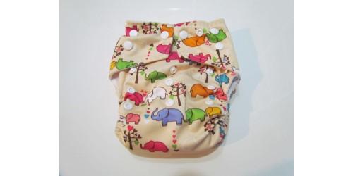 Kawaii baby- Éléphant- snap