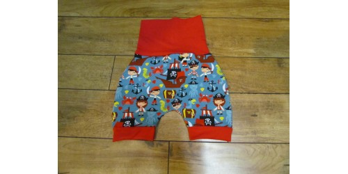 Short évo bébé Nana- Pirate- 1-4 ans