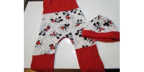 Pantalon évolutif avec chapeau- 3-24mois- Mickey Mouse