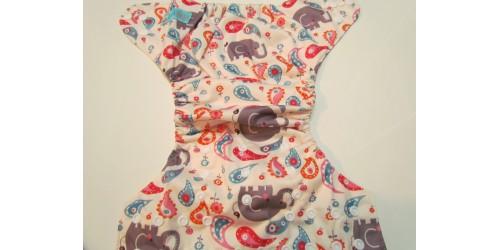Couche Alva- Éléphant gris