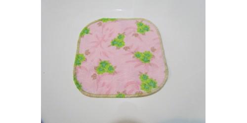 Lingette Bébé Nana- Petit 6x6- Fleur