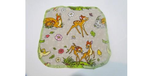Lingette Bébé Nana- Moyen 9x9- Bambi