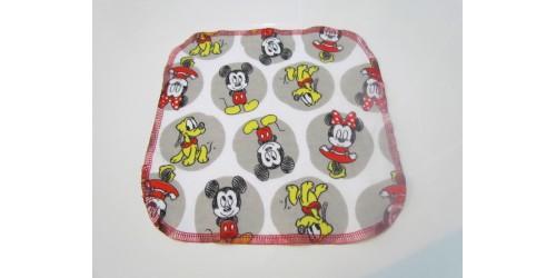 Lingette Bébé Nana- Moyen 9x9- Mickey