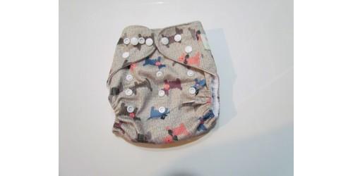 Couche  à poche shine baby- Chien