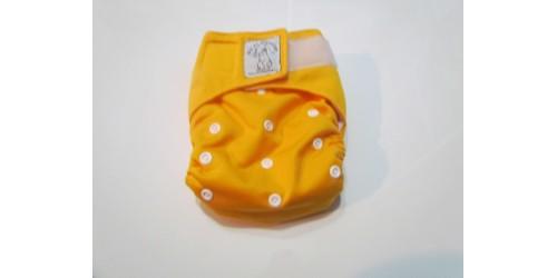 Bic et Biquette TOUT-EN-UN- Jaune orange utilisé 4-5 mois-Velcro