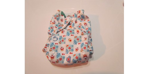 Couche Totsbots easy fit- Cup cake- snap- version 3