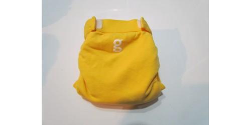 Couche G Diaper- Small 8-14 Lbs- Jaune- Velcro