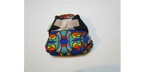Bumgenius nouvau-né- Top Hat- Velcro des ailes changé de couleur