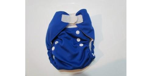 Couche Alva nouveau-né- Bleu royal-velcro