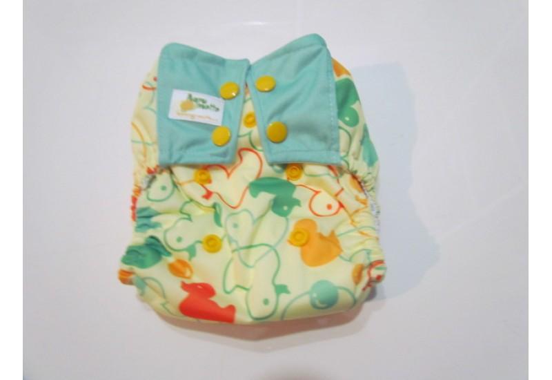 Couche nouveau-né à poche- Canard- 5-15 livres