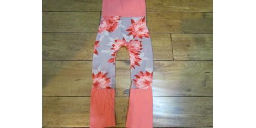 Pantalon évolutif Merkat- 6-36 mois- Fleur