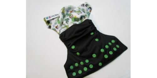 Couche à poche NOUVEAU-NÉ  Joka Bébé- Cactus