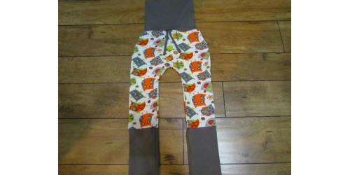 Pantalon évo bébé Nana- Hibou- 6-36 mois