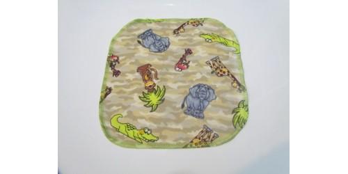 Lingette Bébé Nana- Petit 6x6- Crocodile