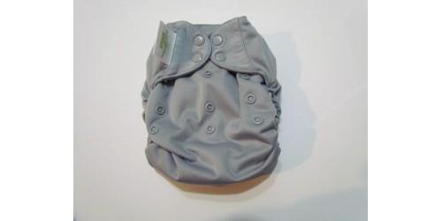 Bumgenius Élémental coton bio 3.0- Gris- Peu utilisé