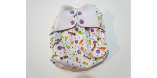 Elf diaper- Couche à poche- Candy party