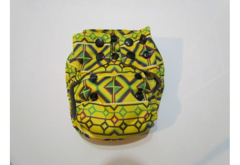 Couche nouveau-né Bamboodrive- Intérieur charcoal- Aztec