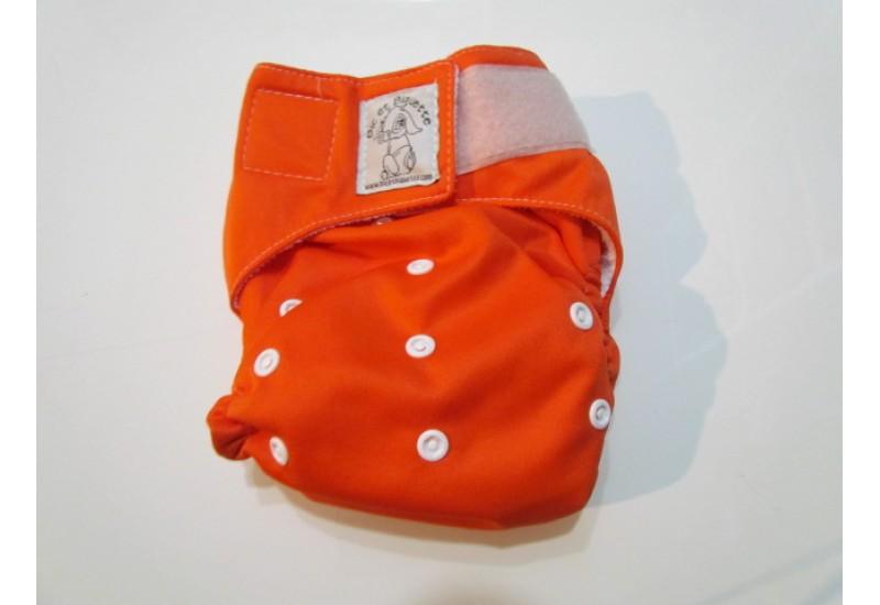 Bic et Biquette TOUT-EN-UN- Orange-velcro