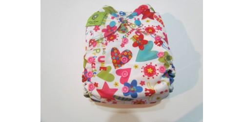 Couche Mini Kiwi à poche -Princesse-snap