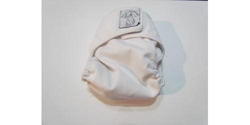 Bic et Biquette NOUVEAU-NÉ Poche-Blanc- velcro