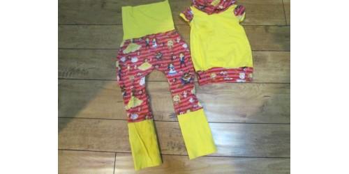 Pantalon évolutif et chandail tunique- La Belle et la Bête