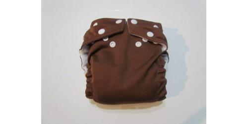 Couche fuzzibunz- Chocolat