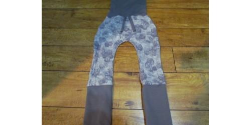 Pantalon évo bébé Nana- Hibou gris 6-36 mois