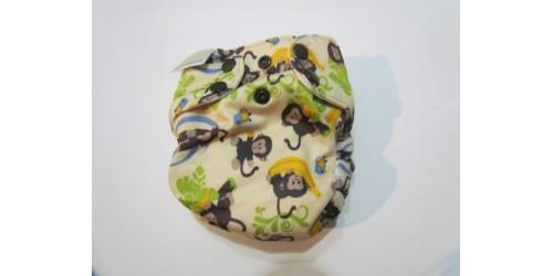 Blueberry simplex nouveau-né- Singe-snap
