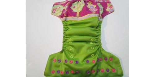Couche à poche Papyrana- Hibou- wrap de coton