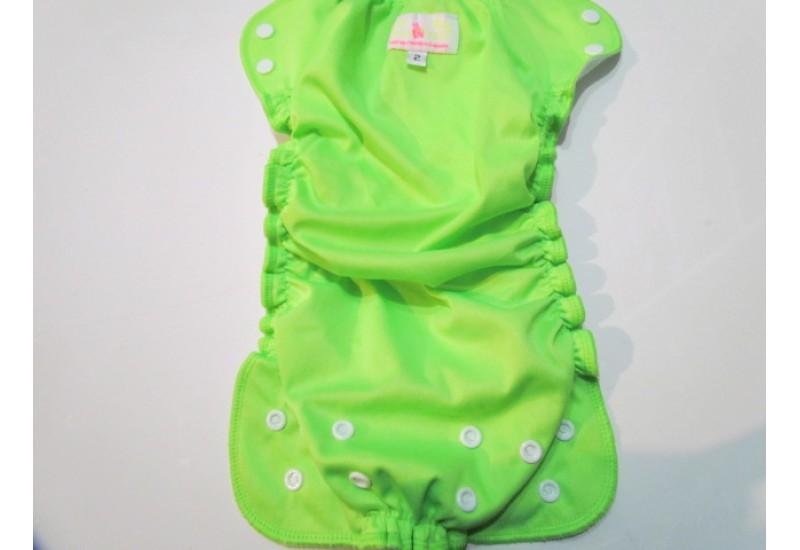 Applecheeks Taille 2- Vert fluo
