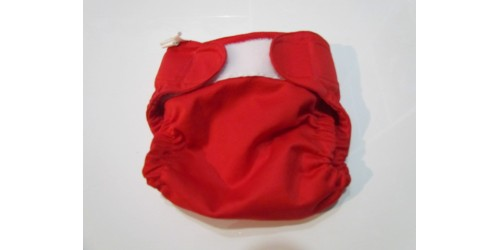 Couvre-couche Bummis- Rouge- 16-30 lbs