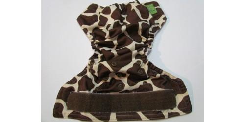 Couche Mini Kiwi à poche - Giraffe-velcro