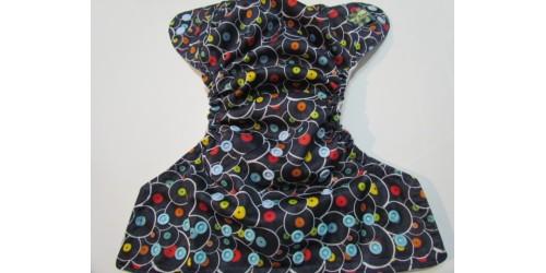 Couche Mini Kiwi à poche - Disque vinyle-snap