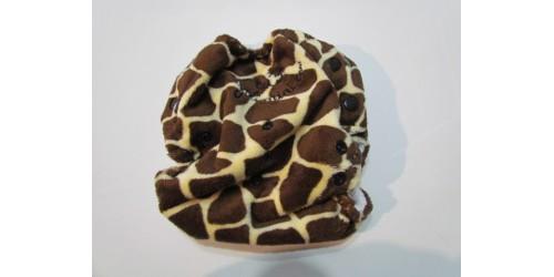 Couche Joli mini à poche - Giraffe extérieur en minky doux