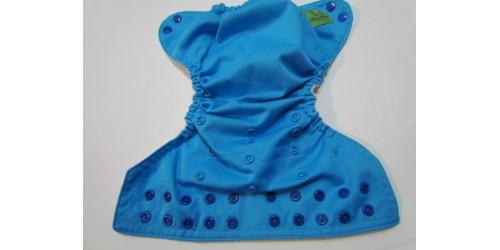 Couche Mini Kiwi à poche -Bleu azur-snap