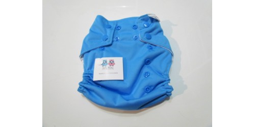 Couche à poche Joka Bébé- Bleu