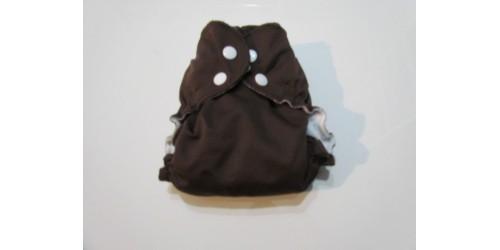 Applecheeks grandeur 1- Chocolat- 7-20 lbs- Peu utilisé
