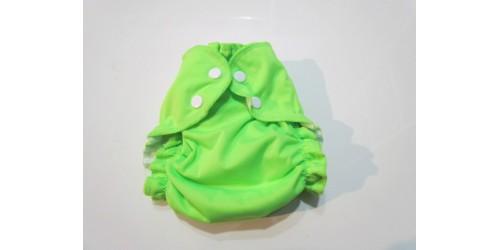 Applecheeks grandeur 1- Vert fluo- 7-20 lbs- Peu utilisé