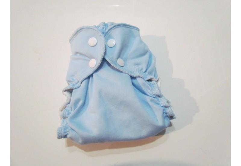 Applecheeks grandeur 1- Bleu pâle- 7-20 lbs