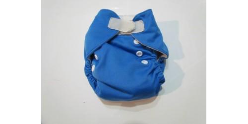 Couche Alva nouveau-né- Bleu azur-velcro