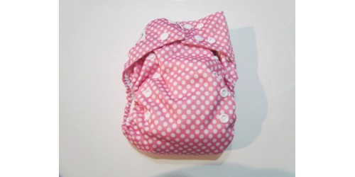 Omaiki nouvelle génération- Picot rose-tout-en-un-snap- Utilisé quelques fois